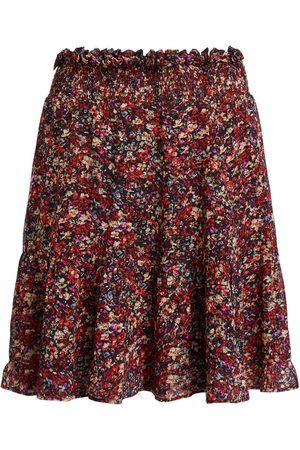 Set Fashion Women Printed Skirts - Set Miniskirt With Rocky Millefleurs Print