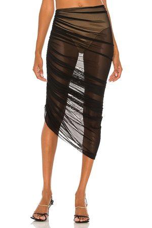 Norma Kamali Diana Long Skirt in .