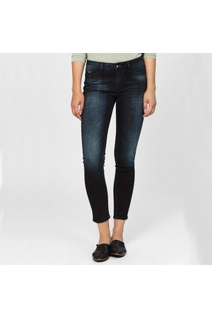 Denham Women Skinny - Spray Mid Rise Skinny Jeans NY