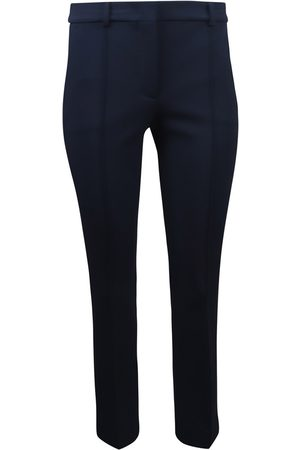 Sportmax Navy Stretch Trouser