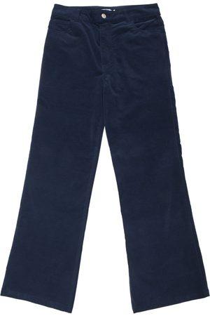 New Man Velvet Stretch Flared Jean Trousers