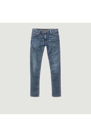 Nudie Skinny Linen DARK NAVY Jeans