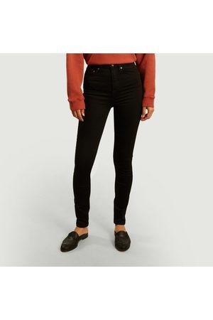 Nudie Hightop Tilde slim tinted jeans Everblack Jeans
