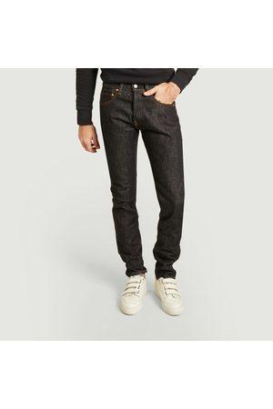 Momotaro Jeans Thigh tapered 15.7oz jean indigo