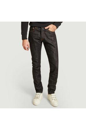 Momotaro Jeans 16 oz high tapered jean indigo
