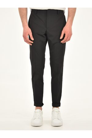 PT01 Stretch fit nylon trousers