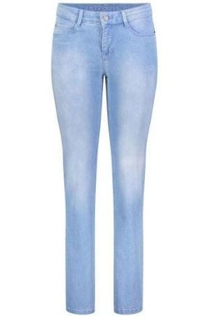 Mac Jeans Mac Dream 5401 0355L Straight Leg Jeans D491 Basic Bleached