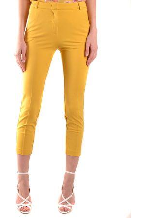Pinko Women Slim - Slim Fit Cropped Trousers