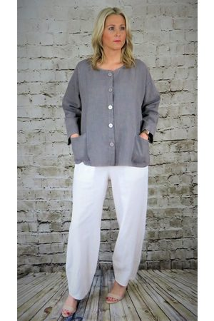 Out Of Xile LINEN WIDE TROUSERS