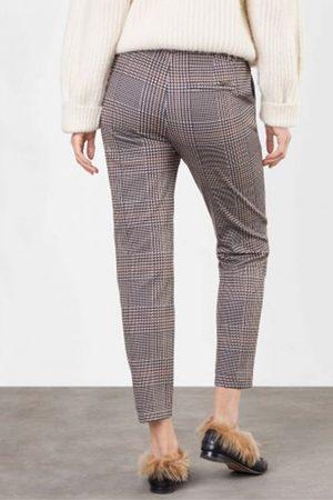 MAC Cora Check Jersey Trouser