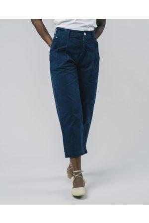 Brava Fabrics Pleated Pants Navy