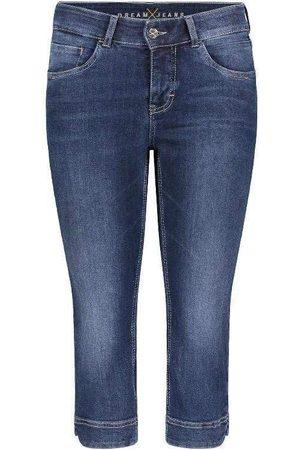 Mac Jeans Mac Dream Capri Cropped Jeans 5469 0355 D853 Dark Used Denim N