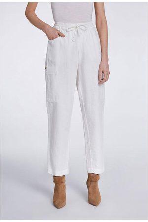 Set Fashion Set Casual Linen Trousers