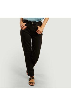 Nudie Breezy Britt regular tapered tinted jeans worn Jeans