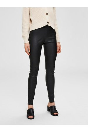 SELECTED Sylvia Stretch Lamb Leather Leggings