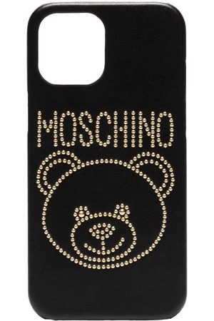 Moschino Studded teddy iPhone 12 Pro Max case