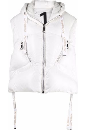 Khrisjoy Women Gilets - Shiny puffer vest