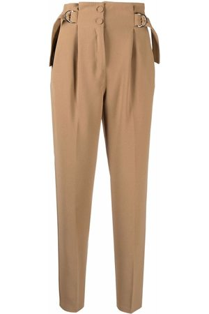 Pinko Women Formal Pants - Cropped tapered trousers