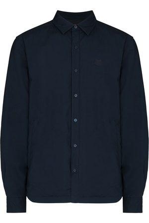 Kenzo Tiger-patch long-sleeve shirt