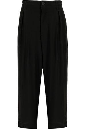 YOHJI YAMAMOTO High-waisted straight leg trousers