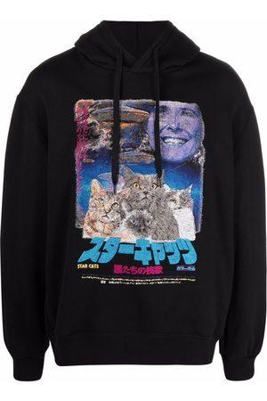 DOUBLET Hoodies - Graphic-print cotton hoodie