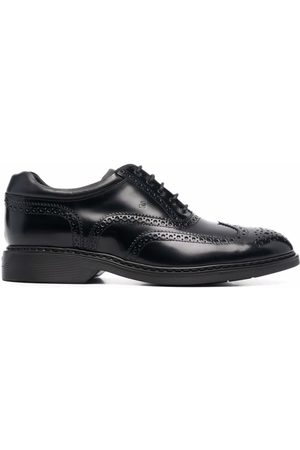 Hogan Leather oxford shoes