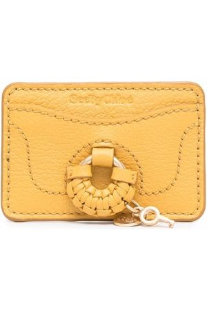 See by Chloé Key-charm leather cardholder