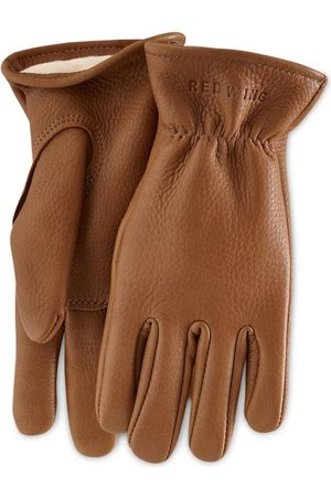 Red Wing 95230 Lined Buckskin Leather Gloves
