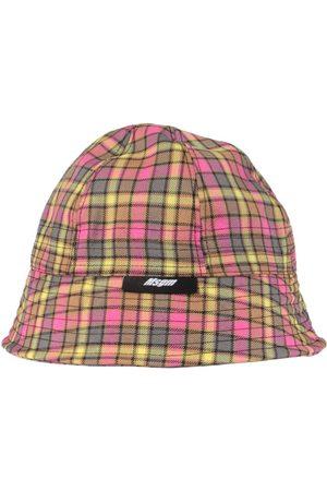 Msgm MEN'S 3040ML0221700606 MULTICOLOR OTHER MATERIALS HAT
