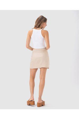 Cools Club Caribou Skirt - Skirts (Sand Linen) Caribou Skirt