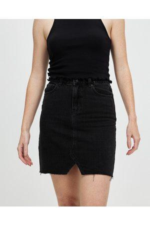 All About Eve Women Denim Skirts - Blair Split Skirt - Denim skirts (Washed ) Blair Split Skirt