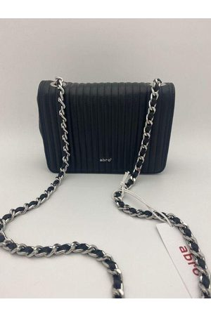 Abro Silver Chain Quilted Bag 028657-57