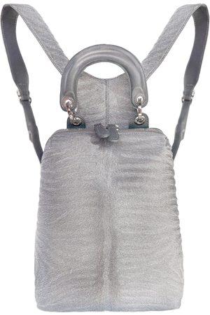 Thale Blanc Racer Haircalf Mini Leather Backpack
