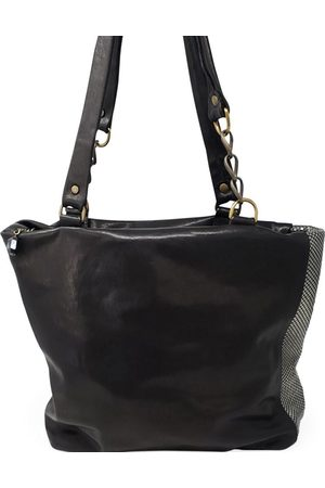 Laura B Milena Leather Shopper bag