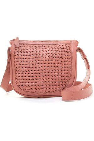 Bell & Fox Caro Weave Crossbody/clutch Bag-Terracotta