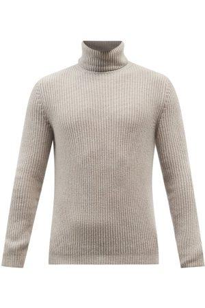 Iris von Arnim Lio Roll-neck Ribbed-cashmere Sweater - Mens