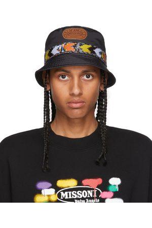 Palm Angels Men Hats - & Multicolor Missoni Edition Heritage Bucket Hat