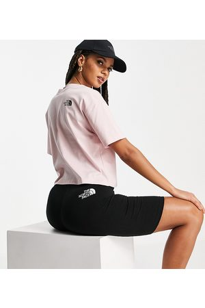 The North Face Zumu cropped t-shirt in pink Exclusive at ASOS