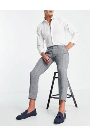 Burton Menswear Burton skinny fit textured pants in light