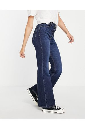 Levi's 70s high flare jeans in indigo-Navy