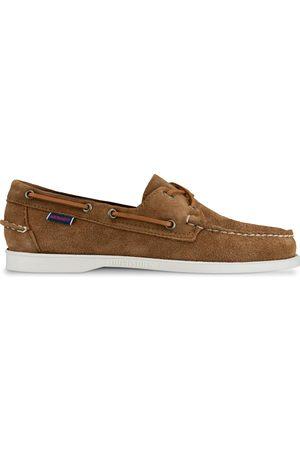 Sebago Docksides Portland Suede Shoes
