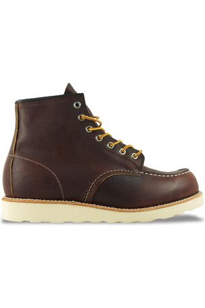 """Red Wing 8138 6"""" Moc Toe Leather Boot"""