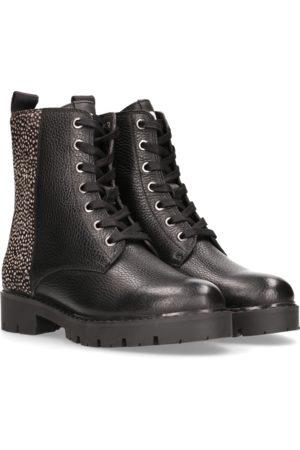 Maruti Gabri Leather/Hairon Boots