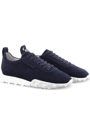 Kennel & Schmenger Women Sneakers - Kennel and Schmenger Ocean Navy and White Soft Nubuck Trainer 51-26400-659-001