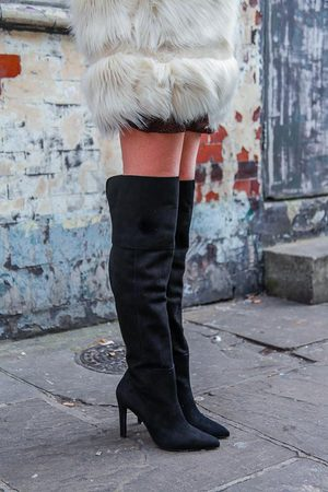 Portamento Kate Over The Knee Boots