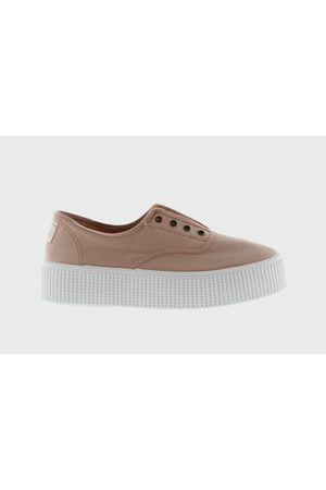 victoria Double Tinted Canvas Shoe in Ballet 1116103