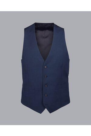 Charles Tyrwhitt Men Waistcoats - Pidot Travel Suit Wool Waistcoat - Frech Size w36 by Charles Tyrwhitt