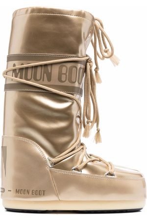 Moon Boot Snow Boots - Icon metallic snow boots