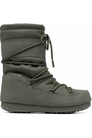 Moon Boot Women Wellingtons - Waterproof mid-length lace-up boots