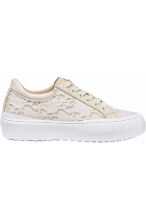 Fendi Women Sneakers - FF Karligraphy low-top sneakers